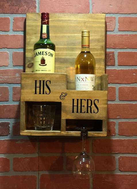 Whiskey and Wine Rack