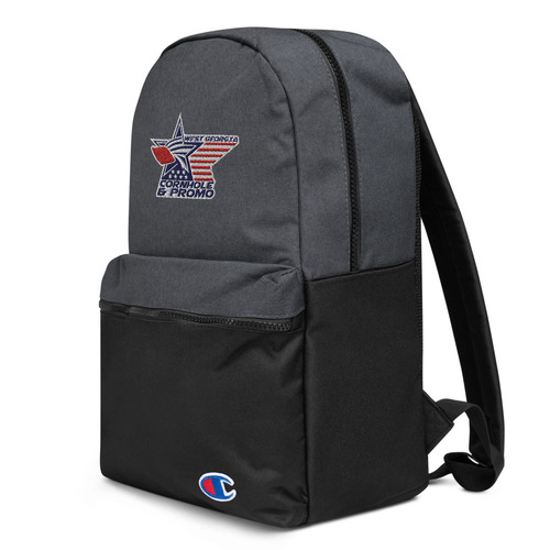 West Georgia Cornhole - Embroidered Champion Backpack