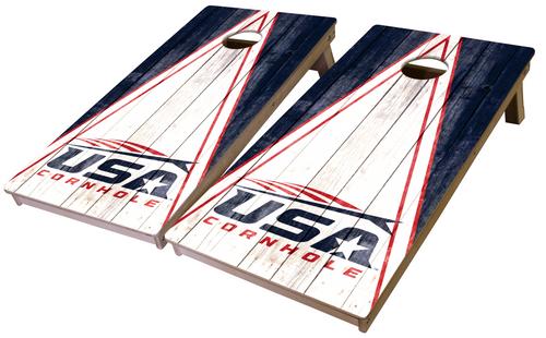 USA Cornhole Pro Series Tournament Grade Cornhole Boards-Rustic