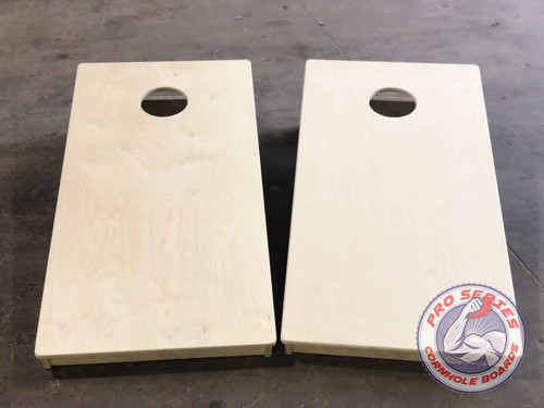Pro Series Tournament Cornhole Boards (Plain with Poly Added NO BAGS)