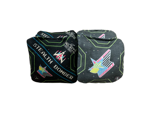 ACL 2020/2021 Competitive Approved: Stealth Bomber Cornhole Bags (Set of 4): Video Game Edition