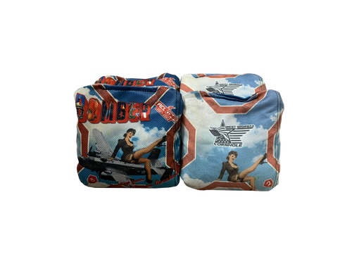 Pin Up Girl 2021/2022 ACL Competitive Approved: Bomber Cornhole Bags (Set of 4)
