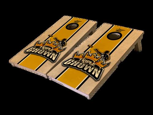 Triple Crown Stripes Pro Series Tournament Grade Cornhole Boards