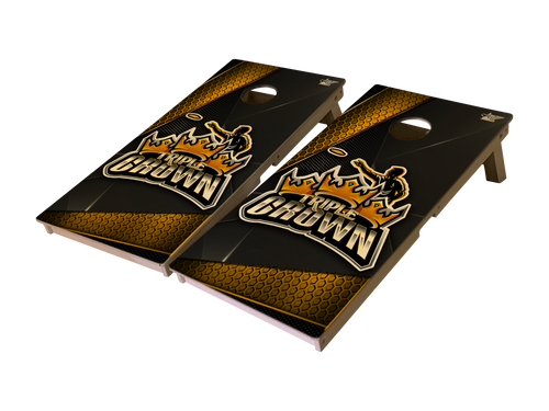 Triple Crown Honey Comb Pro Series Tournament Grade Cornhole Boards