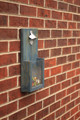 Custom Rustic Wall Hanging Bottle Opener: Weathered Navy Stain