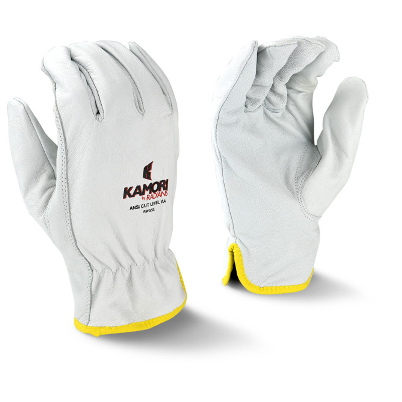 ANSI A4 - Radians RWG52 Kamori™ Cut Protection Level A4 Work Gloves