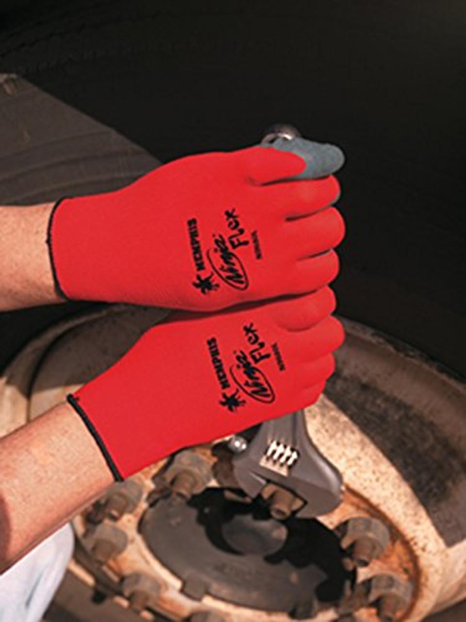 Ninja-Flex® Natural Rubber Palm Coated Gloves