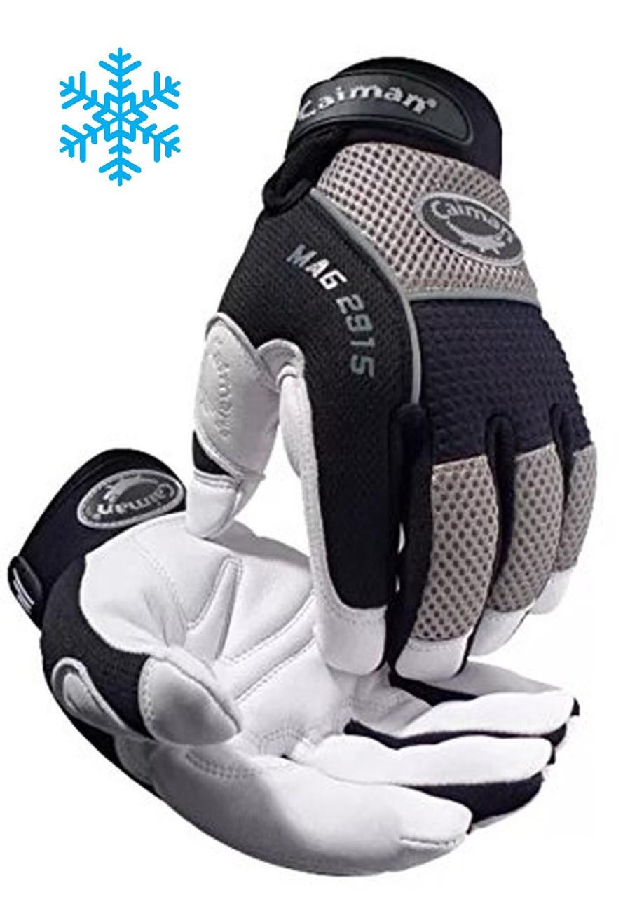White Goat Grain, Heatrac® III - Insulated Glove  ## 2915 ##