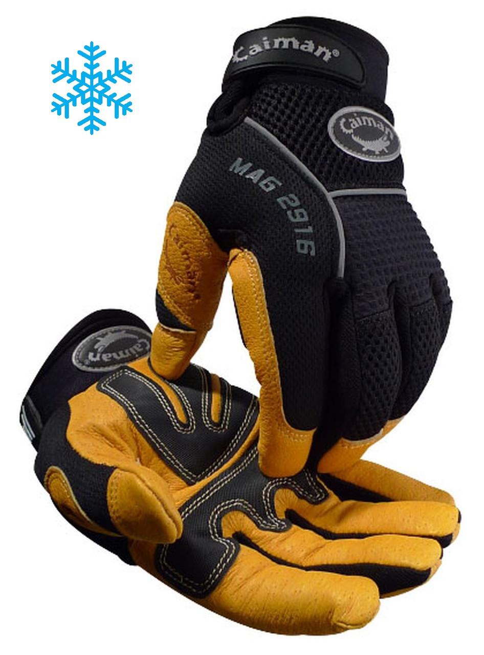 Caiman Genuine Leather, Heatrac® III - Insulated Glove  ## 2916 ##