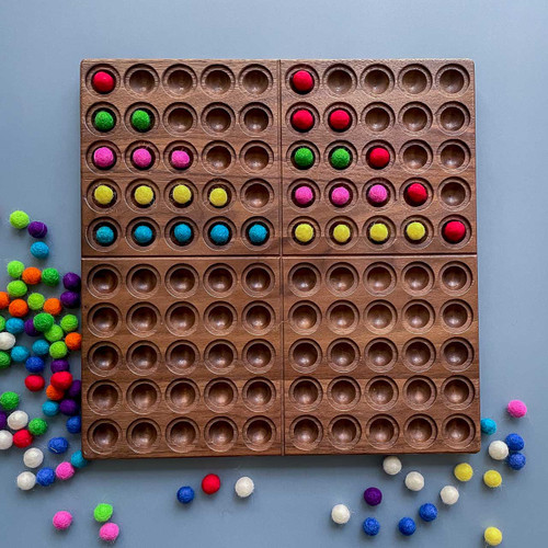 From Jennifer Hundred Frame with exclusive coin pockets Walnut for Endless Play Collective
