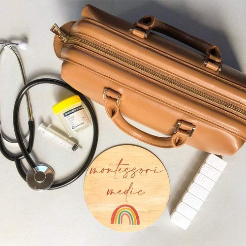 Montessori Medic Real Doctor Kit | Special Edition Tan