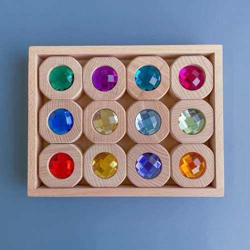 Papoose Bitcoin Blocks | Goethe | Set of 12 for Endless Play Collective