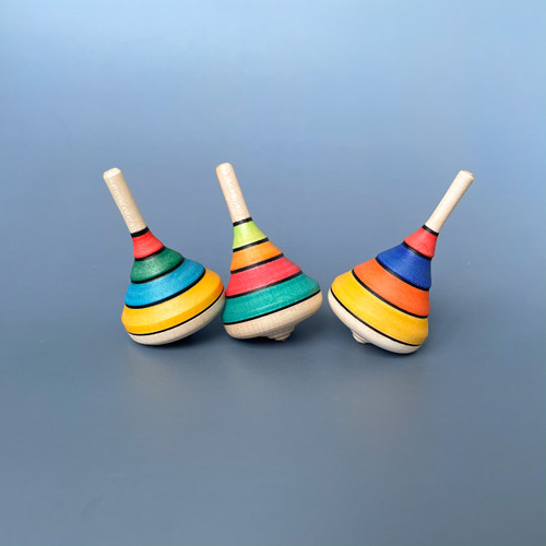 Mader Spinning Top Harlekin for Endless Play Collective