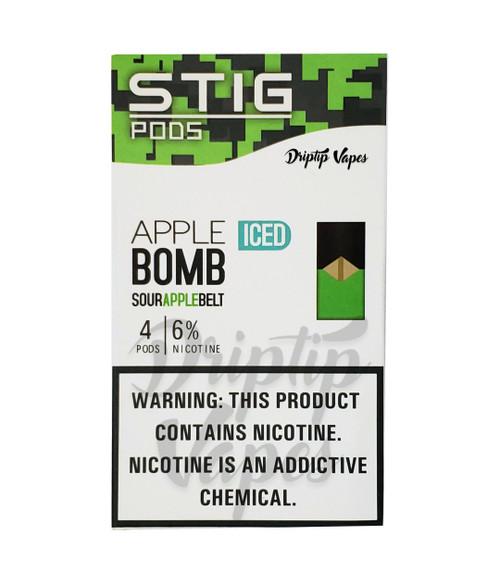 Stig Pods - Apple Bomb Pack of 4