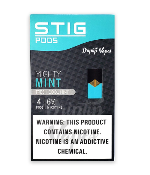 Stig Pods - Mighty Mint Pack of 4