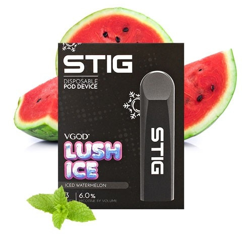 STIG Lush Ice Disposable Pod Device | 3 pack