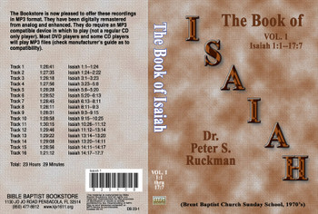 Isaiah, Volume 1 - MP3