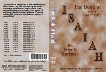 Isaiah, Volume 2 - MP3
