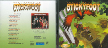 The Legend Of Sticky Foot - Patch The Pirate CD