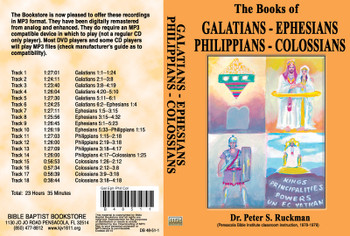 Galatians, Ephesians, Philippians, Colossians - MP3