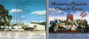 There's Been a Change in Me - Choir CD