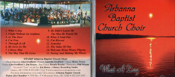 What a Day - Choir CD