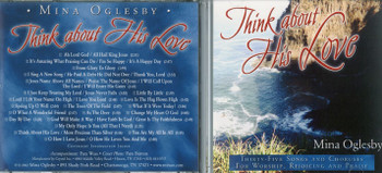 Think About His Love - Mina Oglesby CD