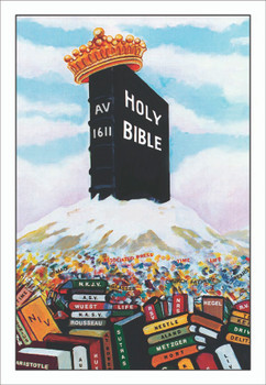 Bible Mountain - Banner (more sizes available)