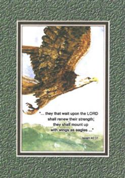 KJV Scripture Encouragement Card - Eagle