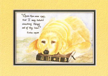 KJV Scripture Blank Greeting Cards - Abbey (6-pack)