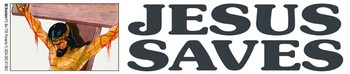 Jesus Saves - Sticker