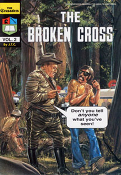 The Broken Cross - Comic Book