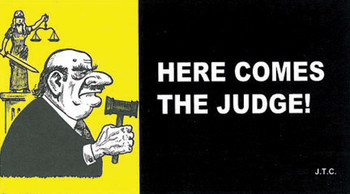 Here Comes The Judge! - Tract
