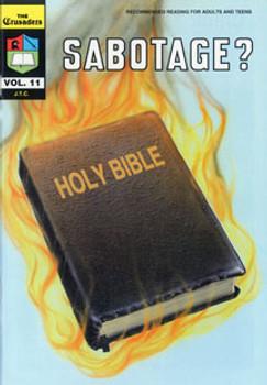 Sabotage? - Comic Book