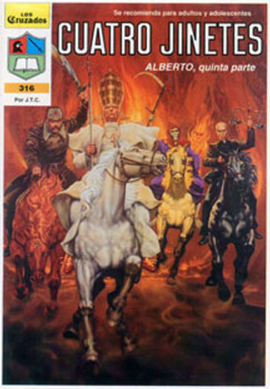 Spanish: Four Horsemen - Comic Book