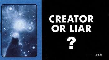 Creator or Liar? - Tract