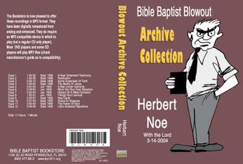 Herbert Noe: Bible Baptist Blowout Archive - MP3
