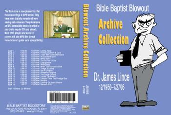 James Lince: Bible Baptist Blowout Archive - MP3