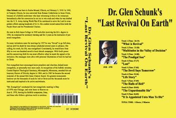 Glen Schunk: Last Revival on Earth - MP3