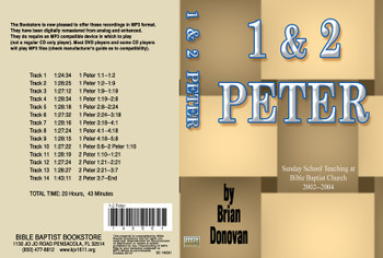 Brian Donovan: 1 & 2 Peter - MP3