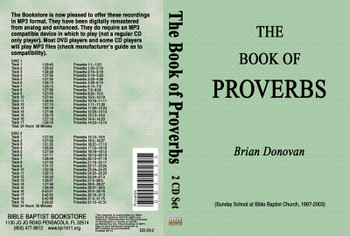 Brian Donovan: The Book of Proverbs - MP3