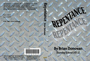 Brian Donovan: Repentance - MP3