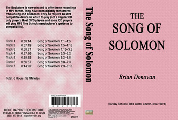 Brian Donovan: Song of Solomon - MP3