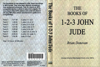 Brian Donovan: 1 John through Jude - MP3