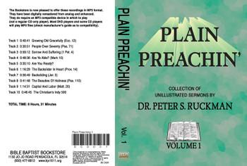 Plain Preachin' Volume 1 - MP3