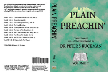 Plain Preachin' Volume 2 - MP3