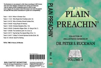 Plain Preachin' Volume 4 - MP3