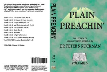 Plain Preachin' Volume 5 - MP3