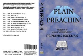 Plain Preachin' Volume 6 - MP3
