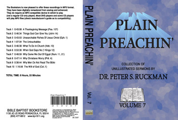 Plain Preachin' Volume 7 - MP3